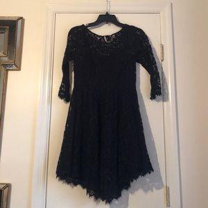 Free People Dress - Lace - Black - size 6